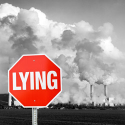 Polluters Lying