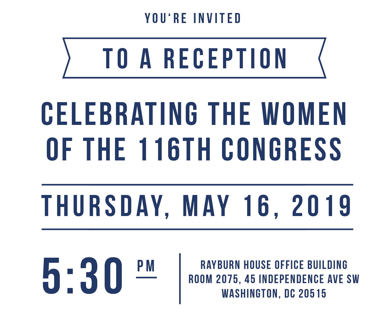 Join the Moms Clean Air Force Congressional Women's Reception