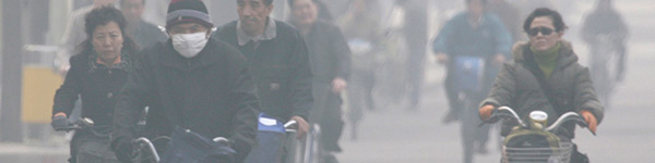 Unprecedented soot and smog in China
