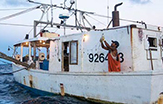 Gulf of Mexico fishing boat