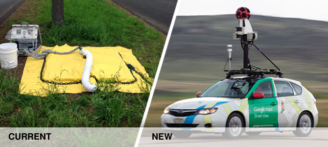 methane detection methods, old and new